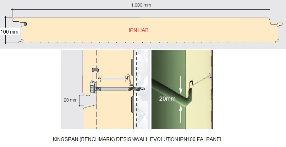 kingspan design evo falpanel